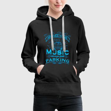 Music - Finish parking - Women's Premium Hoodie