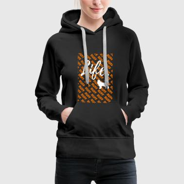 Ruff Life - Cocker Spaniel Dog Shirt - Women's Premium Hoodie