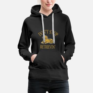 Border Collie Golden Retriever Labrador Retrieving Gift - Women's Premium Hoodie