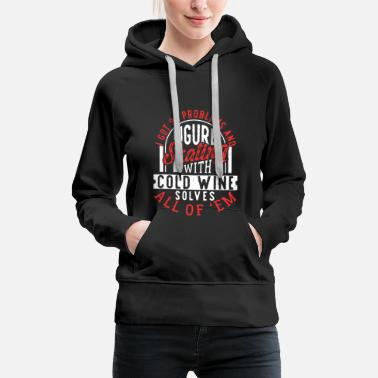 Figure Skating 99 Problems Figure Skating Solves Them All - Women's Premium Hoodie