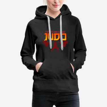 Fight Judo Martial Arts fighting Gift - Women's Premium Hoodie