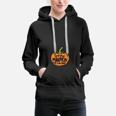 Mature Little pumpkins on the way - Women's Premium Hoodie