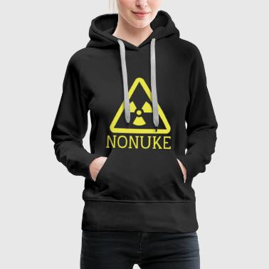 No nuclear weapons - Women's Premium Hoodie