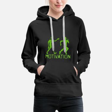 Sports motivation - Premiumluvtröja dam