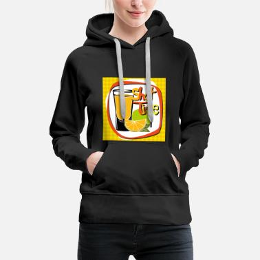Whisky Cocktail, whisky, boissons - Sweat-shirt à capuche Premium pour femmes