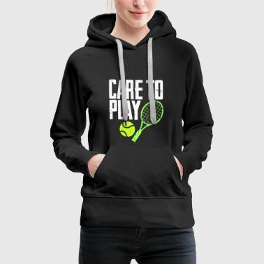 Gym Care to play - Women's Premium Hoodie