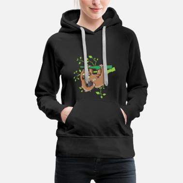 National Maple Syrup Day Canadian Sloth Zoo - Women's Premium Hoodie