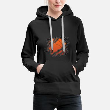 Incognito Basketball tear insight - Women's Premium Hoodie
