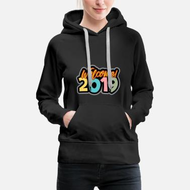 Father And Son New Year's Eve 2019 New Year - Women's Premium Hoodie