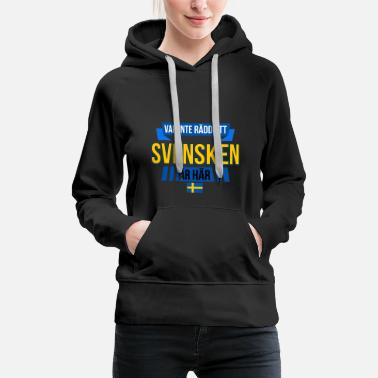 Sweden Svensken Swedish saying - Women's Premium Hoodie