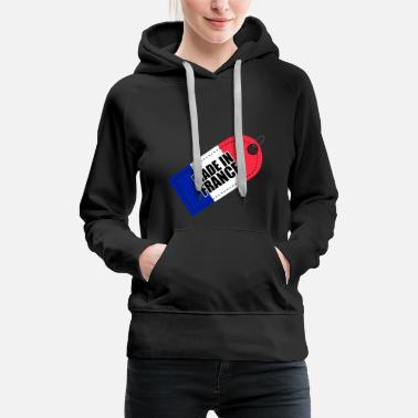 Made in France Flag of France Tricolor - Women's Premium Hoodie