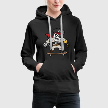 Halloween Skelett Monster Zombie Horror Gruseln - Frauen Premium Hoodie