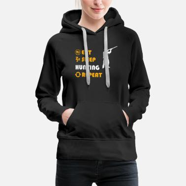 Hunting Hunting - present for men and women - Women's Premium Hoodie