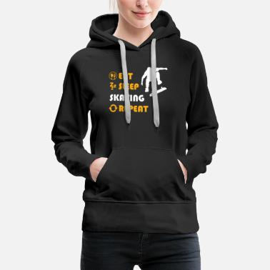 Ollie Skating - gift for men and women - Women's Premium Hoodie