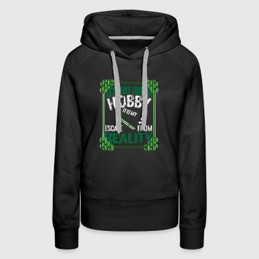Skiing it's not just a hobby - Women's Premium Hoodie