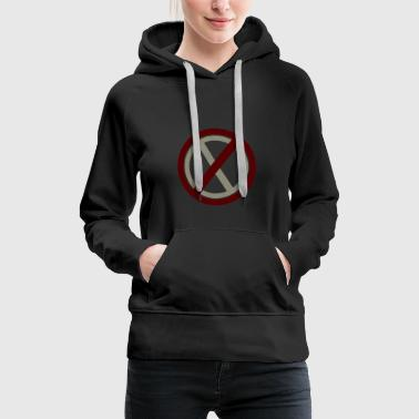 Prohibited Prohibitions prohibit warning signs and signs - Women's Premium Hoodie