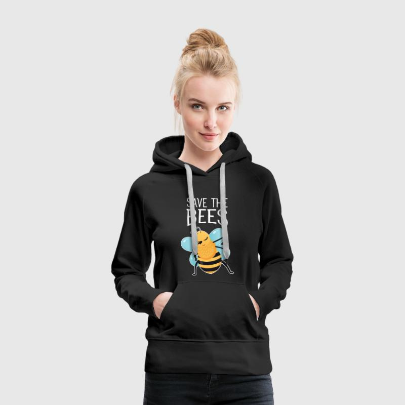 Save The Bees - Dabbing Bee Dab Dance - Sweat-shirt à capuche Premium pour femmes