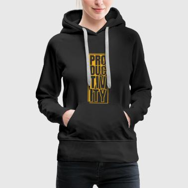 So grow your success, growth, gift gift - Women's Premium Hoodie