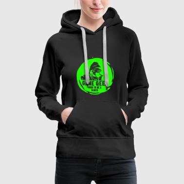 Born to be a GAMER - Frauen Premium Hoodie
