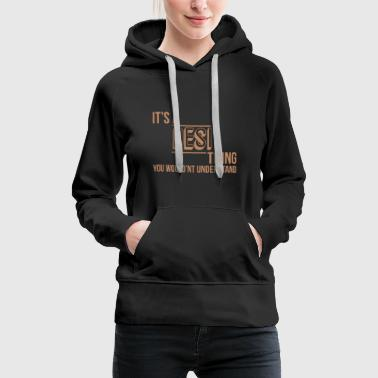 Desi IT'S A DESI THING - Women's Premium Hoodie