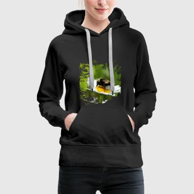 Bumblebees are the hardworking sisters of bees. - Women's Premium Hoodie