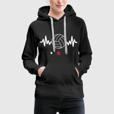 Volleyball is life - Women's Premium Hoodie