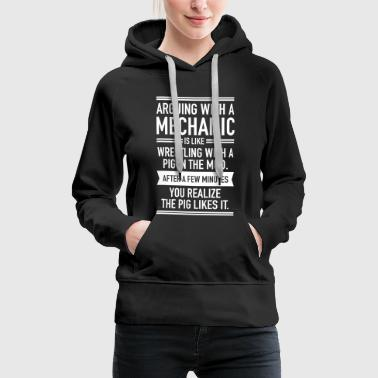 Arguing With A Mechanic... - Women's Premium Hoodie