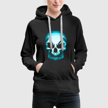 Skull skull and bones Jolly Roger - Women's Premium Hoodie