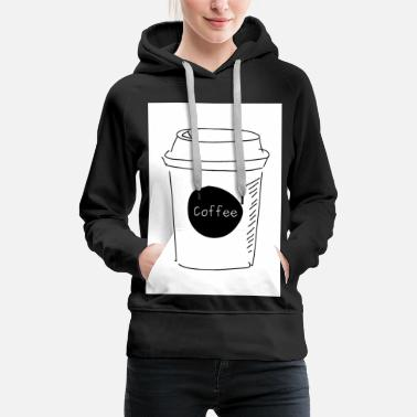 Black Coffee To Go Coffee to Go off white - Frauen Premium Hoodie