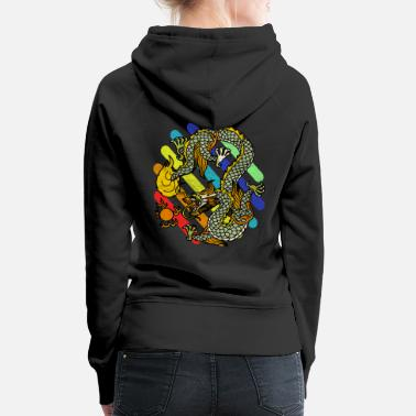 Mythical mythical creatures - Women's Premium Hoodie