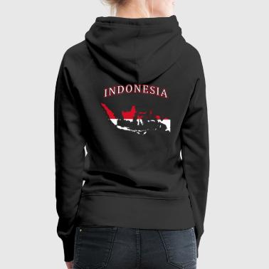 Indonesia flag country - Women's Premium Hoodie