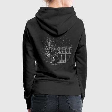 Free Party Rain - Women's Premium Hoodie