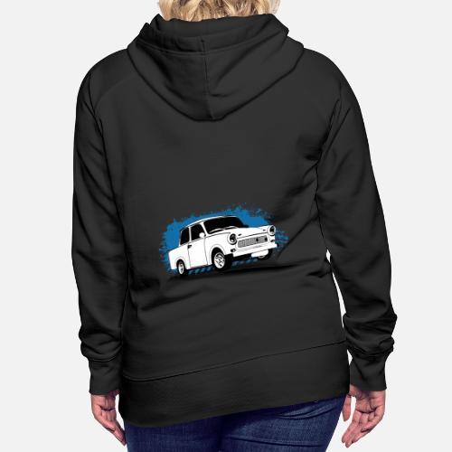 Hoody Trabant Damen Ddr Auto Sweatshirt Pullover Trabi