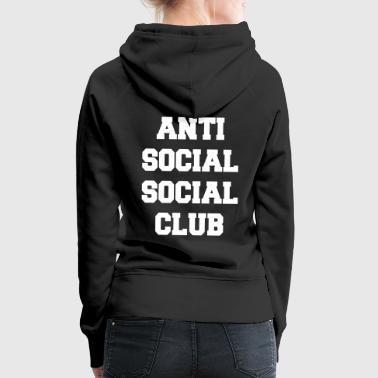 Anti social social club - Women's Premium Hoodie
