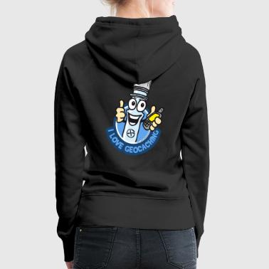 Geocaching PETti the PETling - Frauen Premium Hoodie