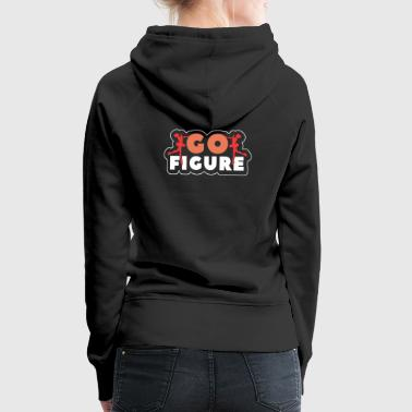 Ice Scating Go Figure T Shirt Gift - Frauen Premium Hoodie