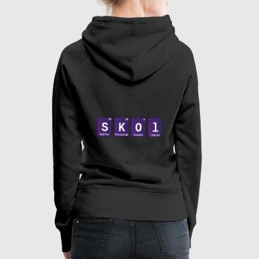Skol Chemical Elements Periodensystem - Frauen Premium Hoodie