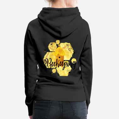 Bee Beekeepers - beekeeping - beekeepers - Women's Premium Hoodie