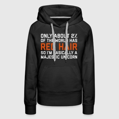 Red Hair Funny Quote - Women's Premium Hoodie
