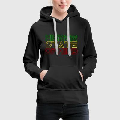 Higher State Of Mind - Women's Premium Hoodie