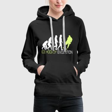 Evolution - Ice Hockey T-Shirt Geschenk - Frauen Premium Hoodie