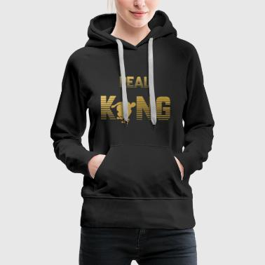 Real King - Skateboard - Women's Premium Hoodie