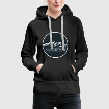 Space Mountain - Women's Premium Hoodie