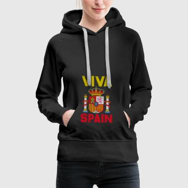 Sense of Life Spain Coat of Arms Europe Madrid Gift - Women's Premium Hoodie