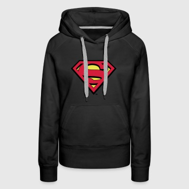 Superman S-Shield in Flex T-Shirt für Kinder  - Frauen Premium Hoodie