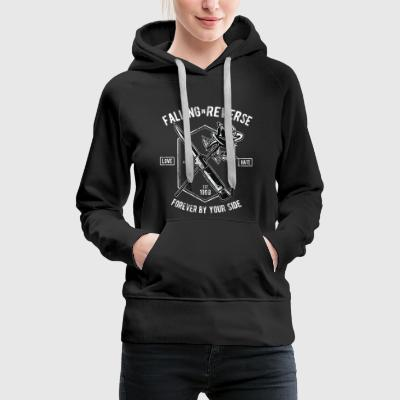 FOREVER BY YOUR SIDE - Hassliebe Shirt Motiv - Frauen Premium Hoodie