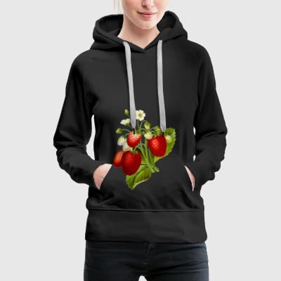 strawberries - Women's Premium Hoodie