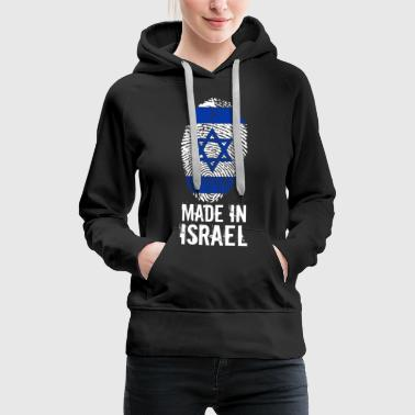 Made in Israel / Gemacht in Israel מדינת ישראל - Frauen Premium Hoodie