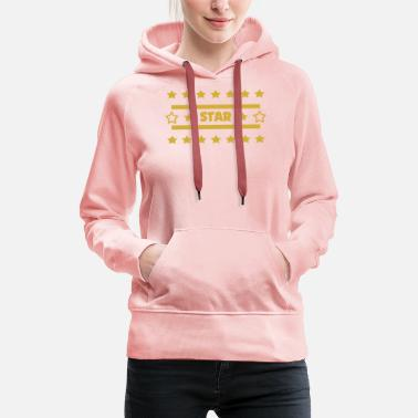 Star and star - Women's Premium Hoodie