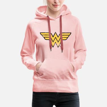 Woman Justice League Woner Woman Logo Pull  - Sweat à capuche premium Femme